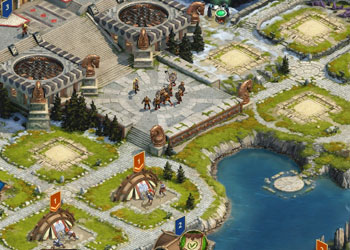 Play Vikings War of Clans online - Screenshot 2