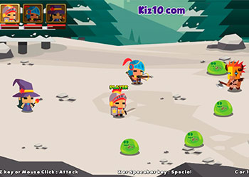 Play Warriors League online - Screenshot 1