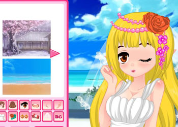 Play Wedding Anime Avatar online - Screenshot 2