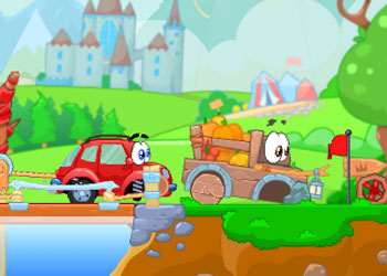 Play Wheely 6 Fairytale online - Screenshot 2