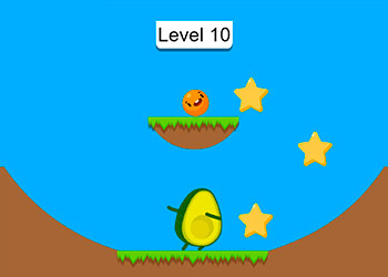 Play Wheres My Avocado Draw Lines online - Screenshot 2