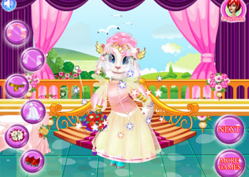 Play White Kittens Bride Contest online - Screenshot 1