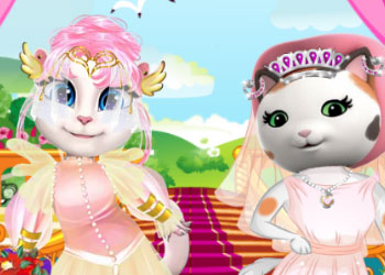 Play White Kittens Bride Contest online - Screenshot 2
