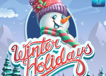 Play Winter Holidays online - Screenshot 1