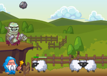 Play Wizard Walls online - Screenshot 2