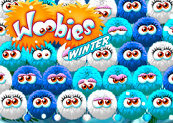 Play Woobies Winter online - Screenshot 1