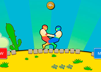 Play Wrestle Jump 2 online - Screenshot 1