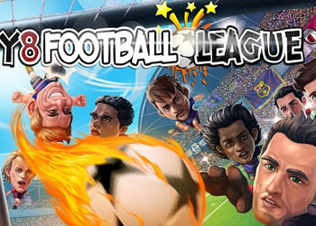 Play Y8 Soccer League online - Screenshot 1