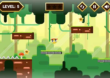 Play Yellow Ball Adventure online - Screenshot 2