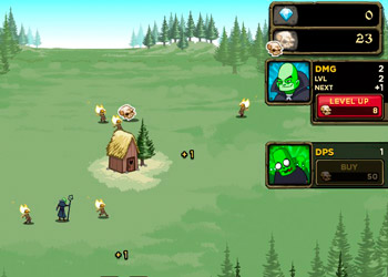 Play Zombidle online - Screenshot 2