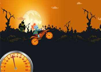 Play Zombie Bike Adventure online - Screenshot 1