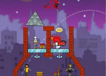 Play Zombie Demolisher 2 online - Screenshot 2