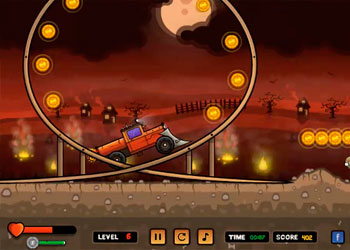 Play Zombie Destroyer Rush online - Screenshot 2