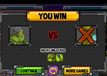 Play Zombie Fight Club online - Screenshot 1