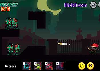 Play Zombie Gunpocalypse online - Screenshot 2