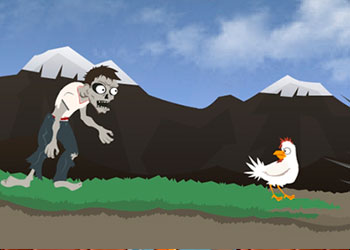 Play Zombie Hearts Chicken online - Screenshot 2