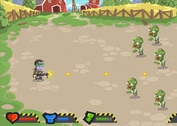 Play Zombie Incursion online - Screenshot 1