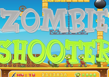 Play Zombie Shooter online - Screenshot 1