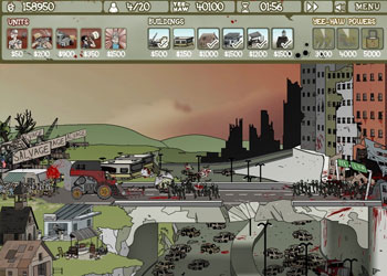 Play Zombie Trailer Park online - Screenshot 1