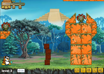 Play Zombies vs Penguins 2 online - Screenshot 1