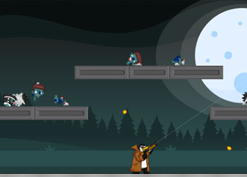 Play Zombies vs Penguins 4 online - Screenshot 1